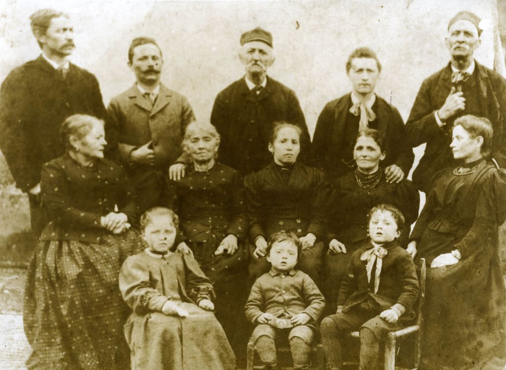 Ritratto della famiglia di Nascetti Luigi