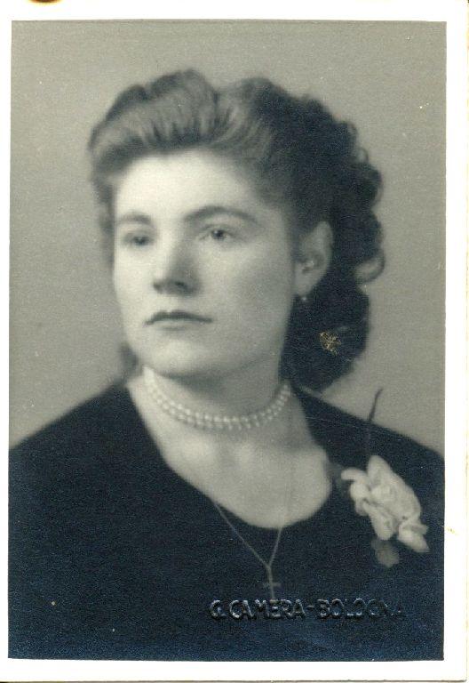 Ritratto di Elda Musiani, anni'50