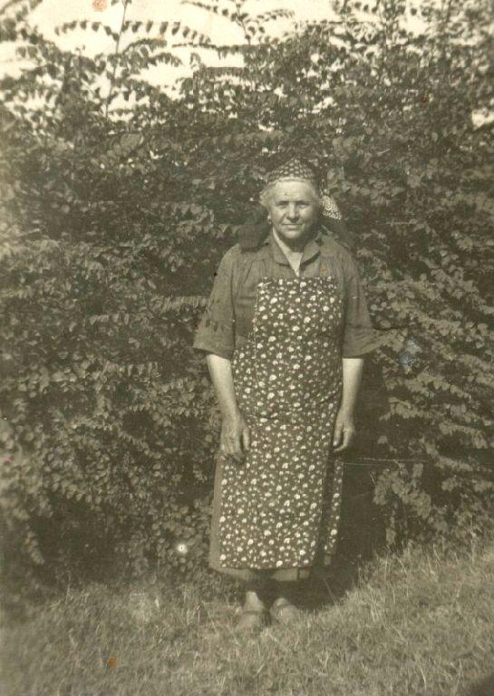 Clelia Garulli in Musiani, nata a Borgo Panigale il 26.01.1880 ed emigrata a Granarolo dell'Emilia l'11.11.1939