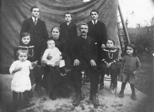 Famiglia Lusuardi, Granarolo dell'Emilia 1913-14
