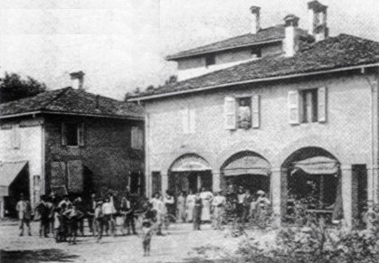 Saluti da Cadriano (località di Granarolo dell'Emilia)