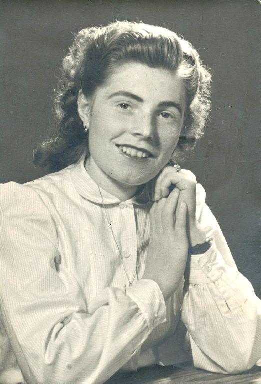 Ritratto di Elda Musiani, anni'40