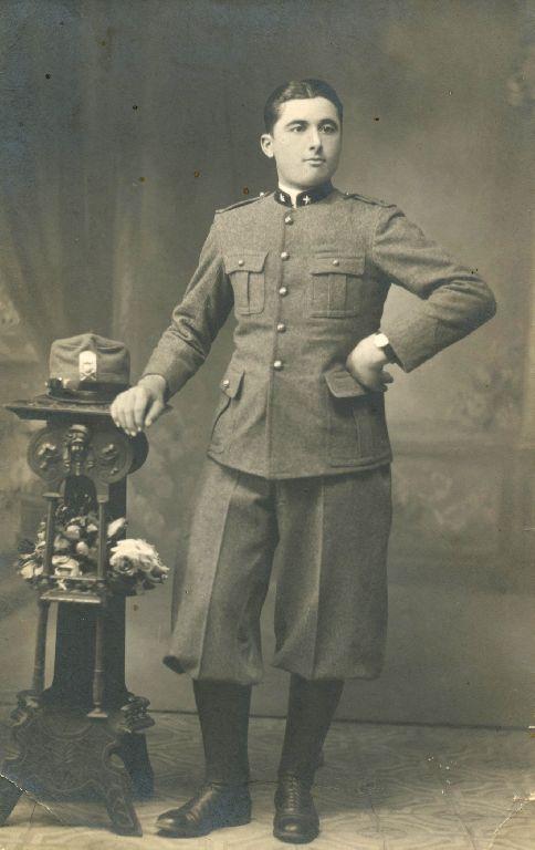 Ritratto con abito militare di Anello Lanzi, Granarolo dell'Emilia