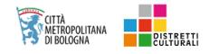 Città metropolitana di Bologna - Distretti Culturali